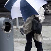 Wind warning issued for six counties with gusts of up to 110km/h