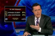 American TV satirist Stephen Colbert considers presidential bid