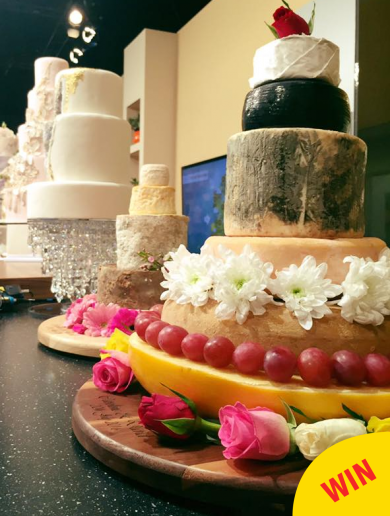 This mountain of cheese might just be the greatest wedding cake in Ireland