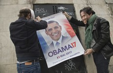 50,000 French people want Barack Obama to run in their presidential race