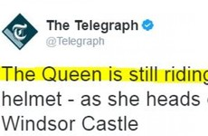 All immature Irish people will snigger at this headline about the Queen