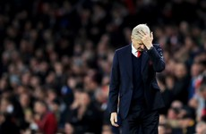 'We want Wenger out': Arsenal fans protest outside the Emirates ahead of Bayern clash