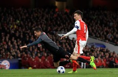 This Koscielny red card all but ended Arsenal's faint hopes of a remarkable comeback