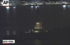 The Statue of Liberty went dark for several hours last night
