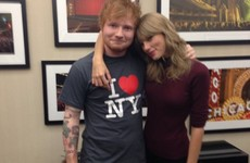 Ed Sheeran says 'it was very easy' to sleep with some of Taylor Swift's friends... it's the Dredge