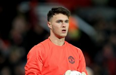 All you know about the Ireland goalkeeper selected in Man United's Europa League squad
