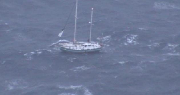 'The rescue effort was enormous': Irishman rescued after yacht capsized off Australian coast