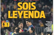'Unspeakable!': The best back pages after Barcelona's 'insane' comeback