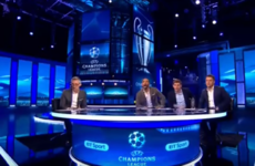 The BT Sport studio reaction sums up how most of us felt in the final seconds of Barca-PSG