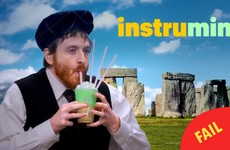 McDonald's new ad for its 'Irish' Shamrock Shake features Stonehenge and bagpipes