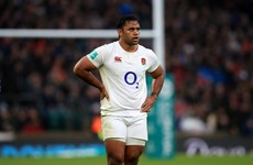 Billy Vunipola named on the bench as England get set for Scotland clash