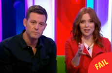 Angela Scanlon gave people an immature chuckle with this slip up on the One Show