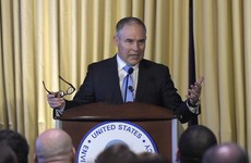 New US environment chief questions carbon link to global warming