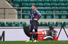 Ruff morning as Farrell sits out England captain's run with 'dog' injury