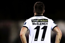Kenny hails McEleney as 'poetry in motion' as he returns to former club