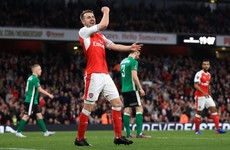 Arsenal recover from midweek humiliation with 5-0 win over Lincoln