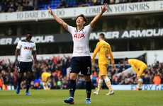 Son shines but Kane injury mars Tottenham's stroll into FA Cup semi-final