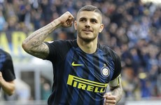 Inter captain Icardi hits perfect nine-minute hat-trick in thrashing of Atalanta