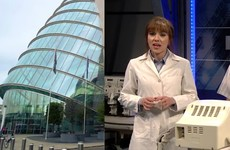 Dublin's Convention Centre actually popped up on a Saturday Night Live sketch