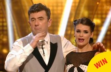 Des Cahill's emotional goodbye was a lovely moment on Dancing With The Stars
