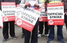 Tesco sales have gone backwards after a month of strikes