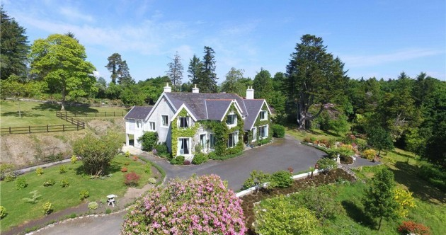 Former president Mary Robinson's 19th-century estate on Lough Conn is for sale