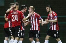 Derry maintain perfect start with stunning comeback win over champions Dundalk