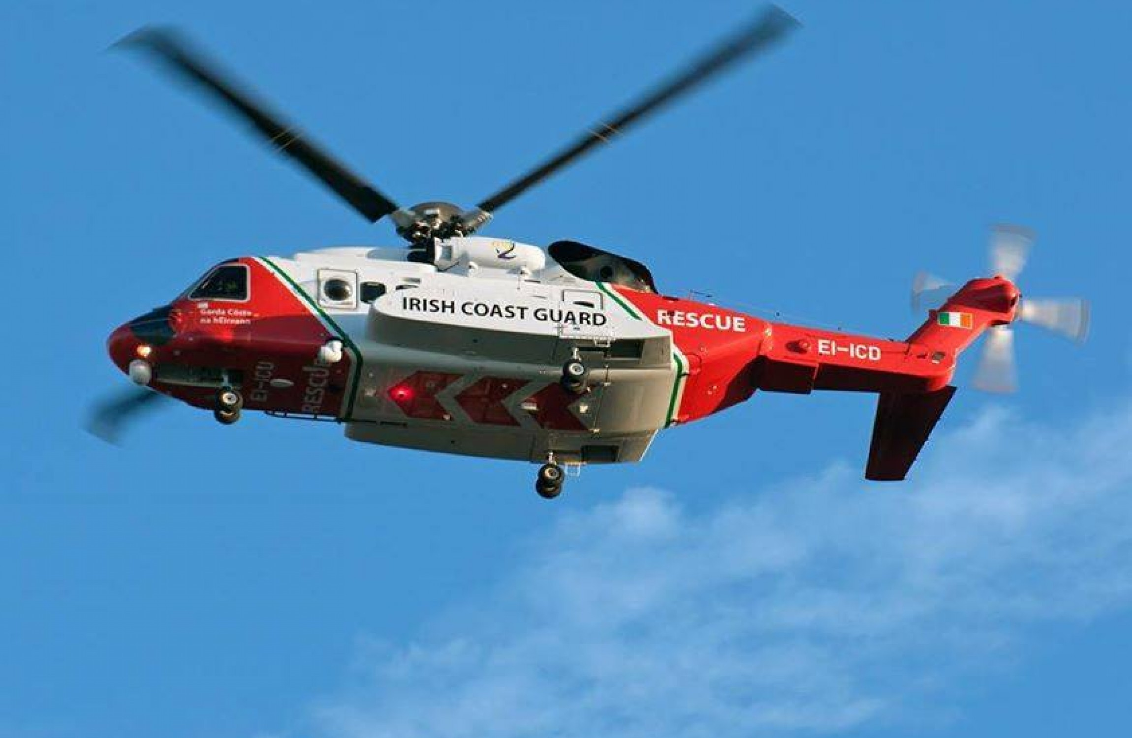 One Rescued, Three Missing In Operation To Locate Coast Guard Helicopter