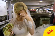 The groom organised the wedding in IKEA Dublin on Don't Tell The Bride last night