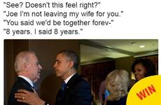 Joe Biden's daughter has revealed her dad's favourite ever Obama/Biden meme