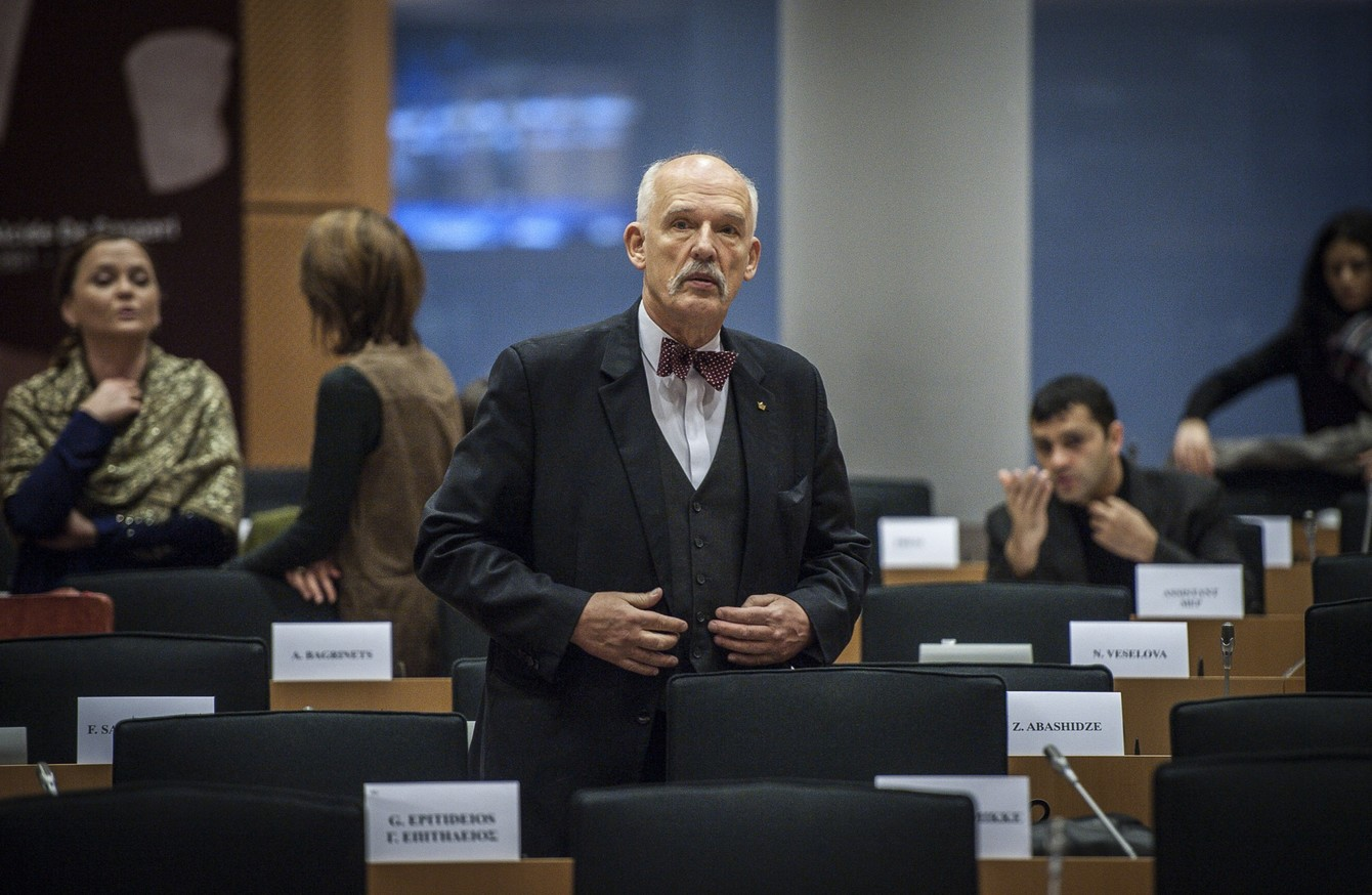 gender pay gap middot ie polish mep barred from parliament after sexist remarks on women s pay