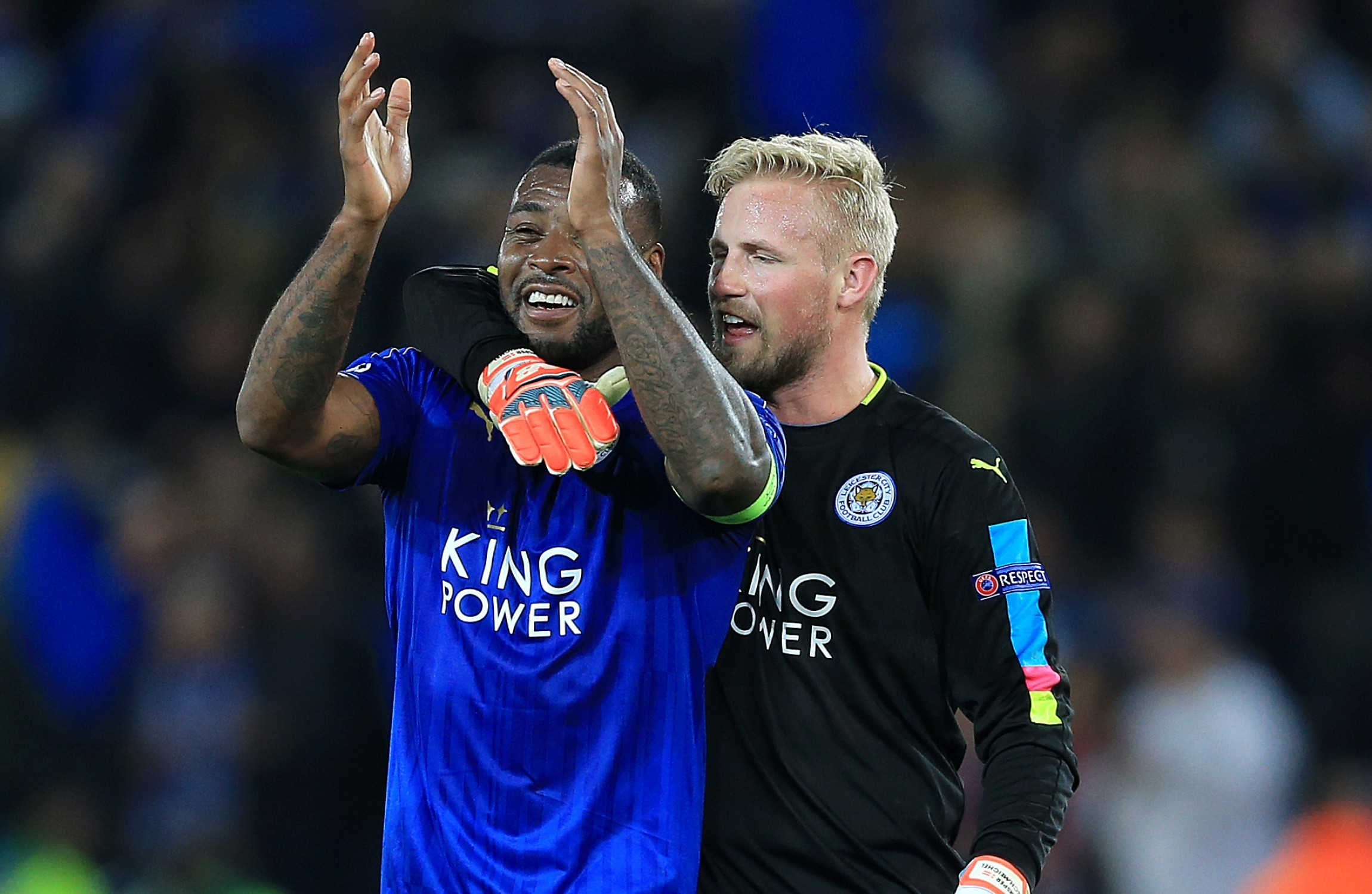 Schmeichel the hero and Nasri sees red as Leicester reach
