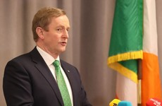 Line saying this will be Enda Kenny's last St Patrick's Day as Taoiseach removed from speech