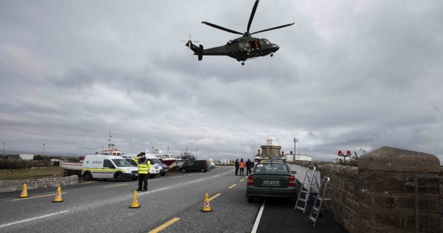 Book of Condolence for Rescue 116 opened in Greystones