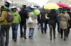 Get out the brolly: St Patrick's Day weekend looking wet and windy