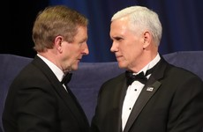 US Vice-President's Irish roots and hint of Trump visit to Ireland dominate gala with Enda