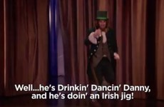 Conan O'Brien's sketch about what it means to be really Irish featured a horror of Irish stereotypes