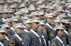 The number of sexual assaults reported at US army and navy academies is on the rise
