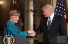Donald Trump tried to joke about wiretapping with Angela Merkel. She didn't laugh