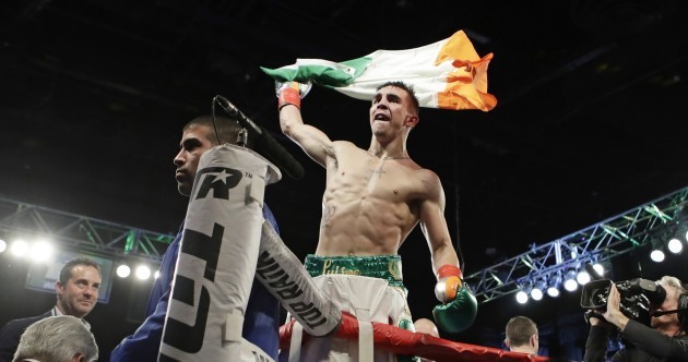 'That was beautiful work': McGregor ringside as Michael Conlan delivers first professional win