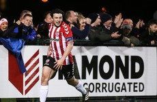 McNamee hits 8-minute hat-trick as Derry maintain 100% record