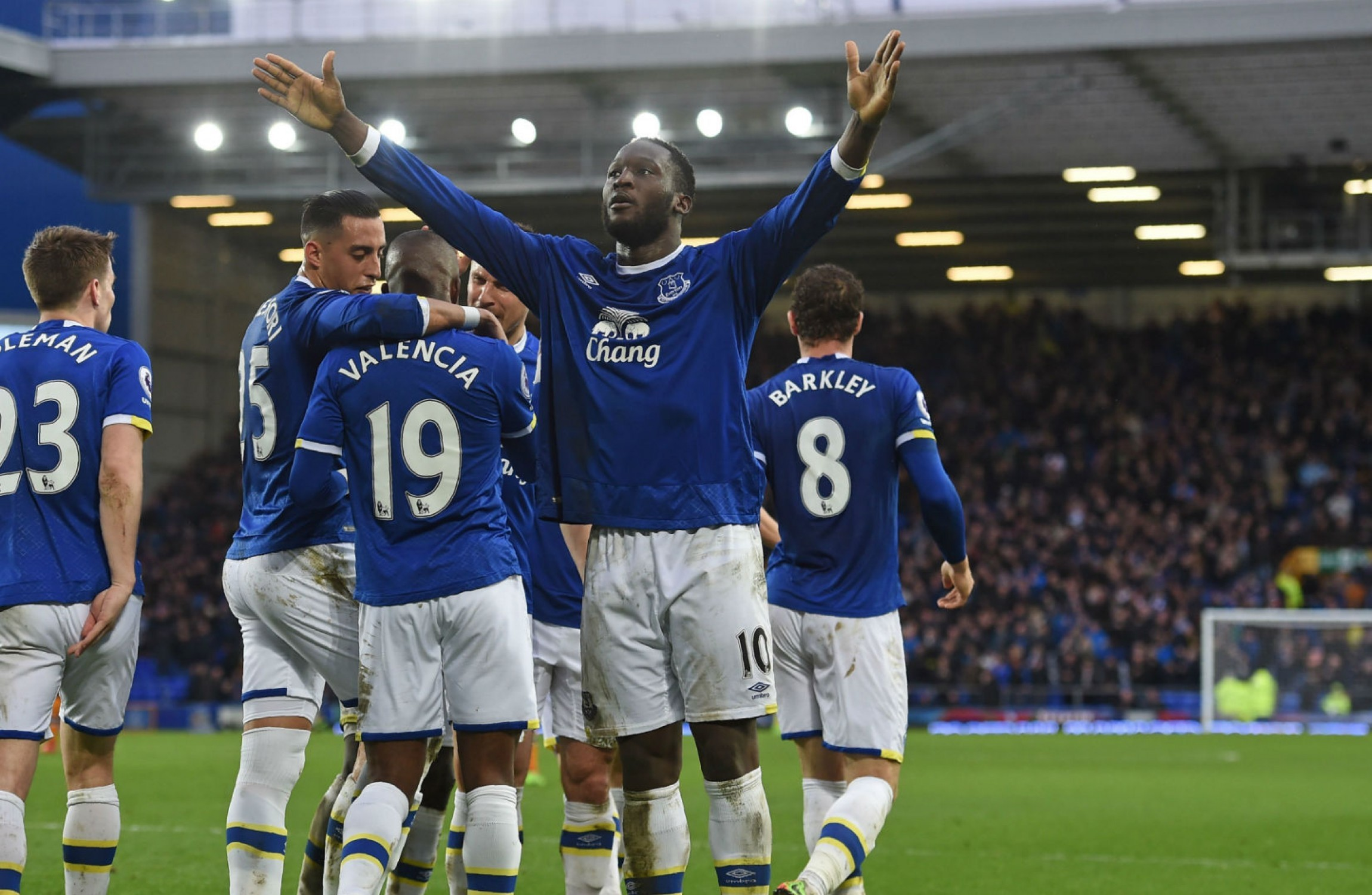 Romelu Lukaku breaks another Everton record in 4-0 win over Hull