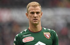 On-loan Joe Hart gifts Inter a point with pair of blunders