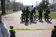 Man arrested after White House 'bomb scare'