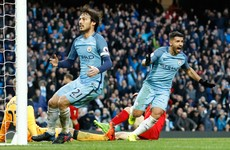 Pulsating, thrilling battle in Manchester as Sergio Aguero's equaliser frustrates Liverpool