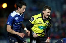 Owens and Doyle to referee Leinster and Munster's big European rugby clashes
