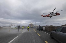 No dives as weather disrupts search for Rescue 116