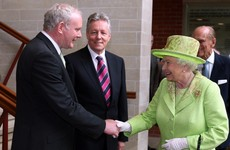 What happened when Martin McGuinness met the Queen of England