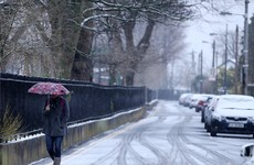 Snow and ice grip the country as weather warning in place on frosty morning