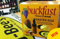You can now get these glorious Buckfast Easter Eggs in Ireland